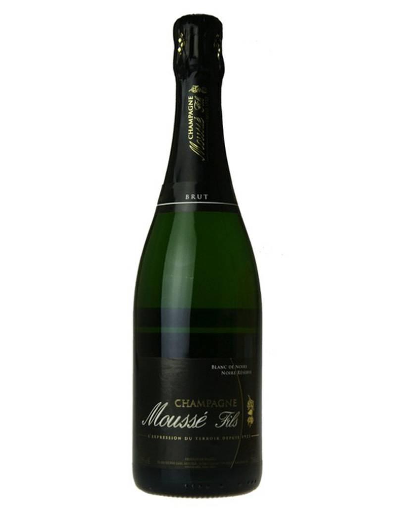 Champagne Mousse Fils Mousse & Fils NV Blanc de Noirs Brut Reserve Champagne