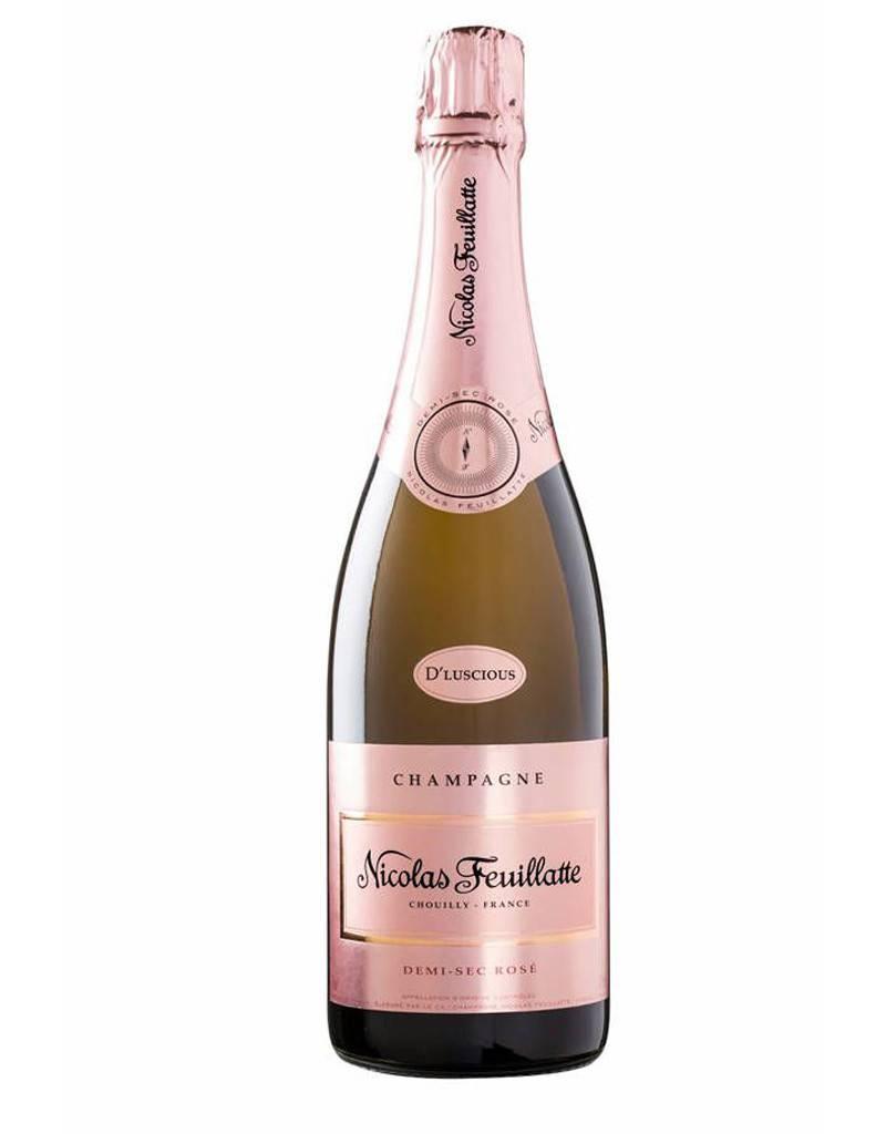 Nicolas Feuillatte Nicolas Feuillatte D'Luscious Demi-Sec Rosé Champagne