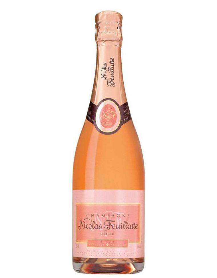 Nicolas Feuillatte Nicolas Feuillatte Brut Rosé Champagne, 187mL