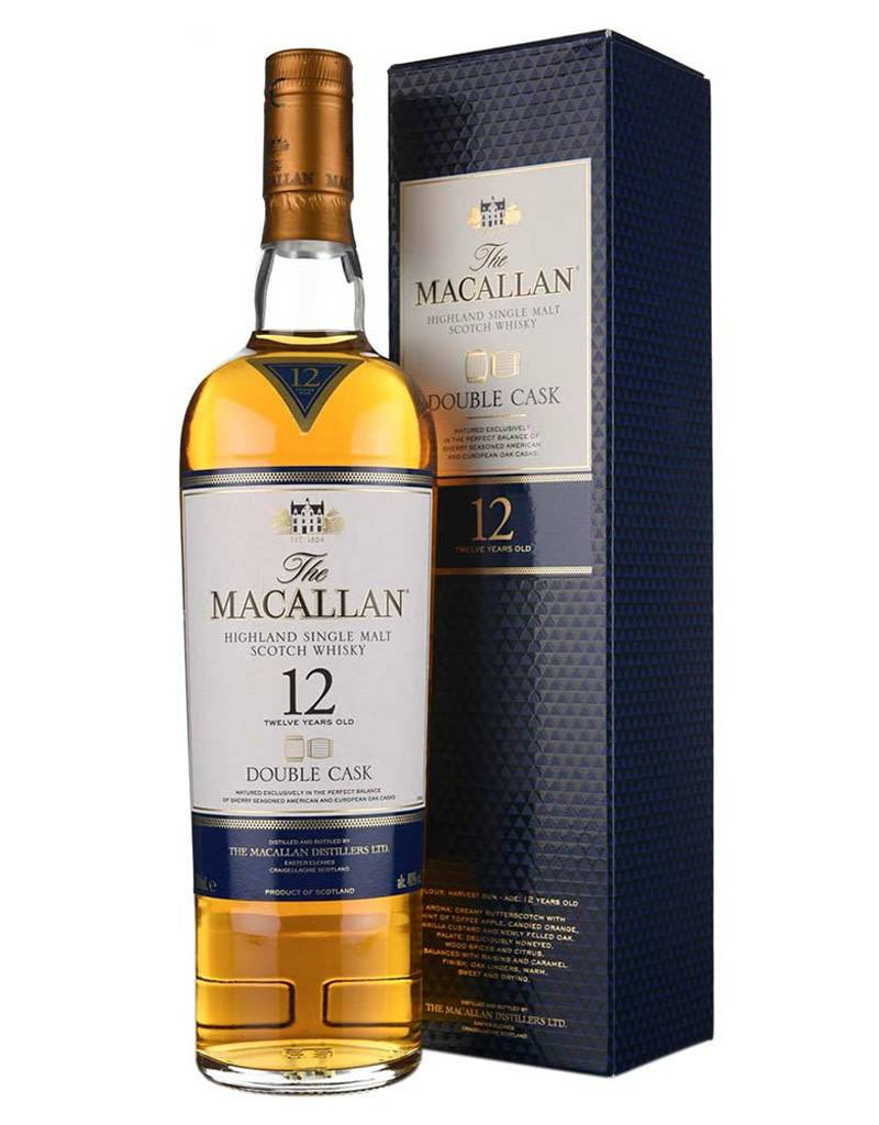 The Macallan 12 Year Double Cask Scotch Whisky, Speyside