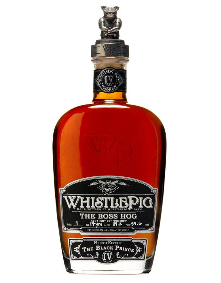 WhistlePig The Boss Hog V 'The Black Prince' 5th Edition, 2018, Rye Whiskey