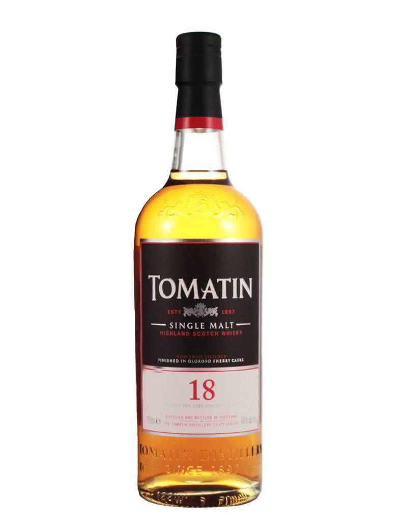 Tomatin 18 Year Highland Single Malt Scotch