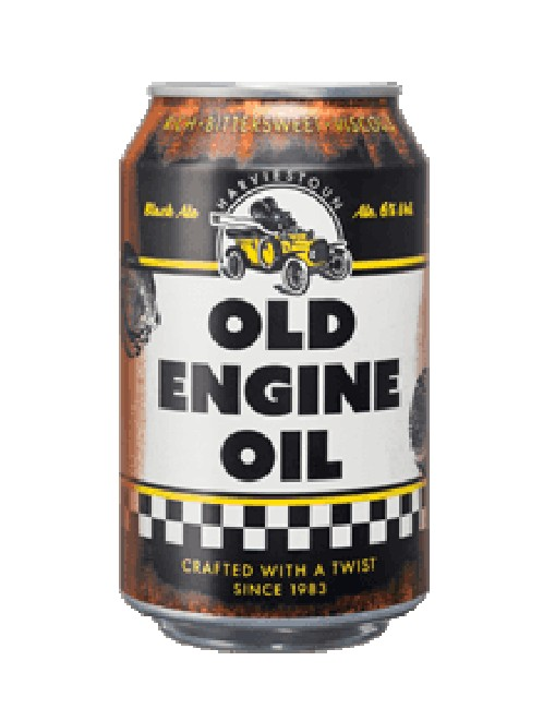 Harviestoun Brewery 'Old Engine Oil' Black Ale Porter, 4pk Can