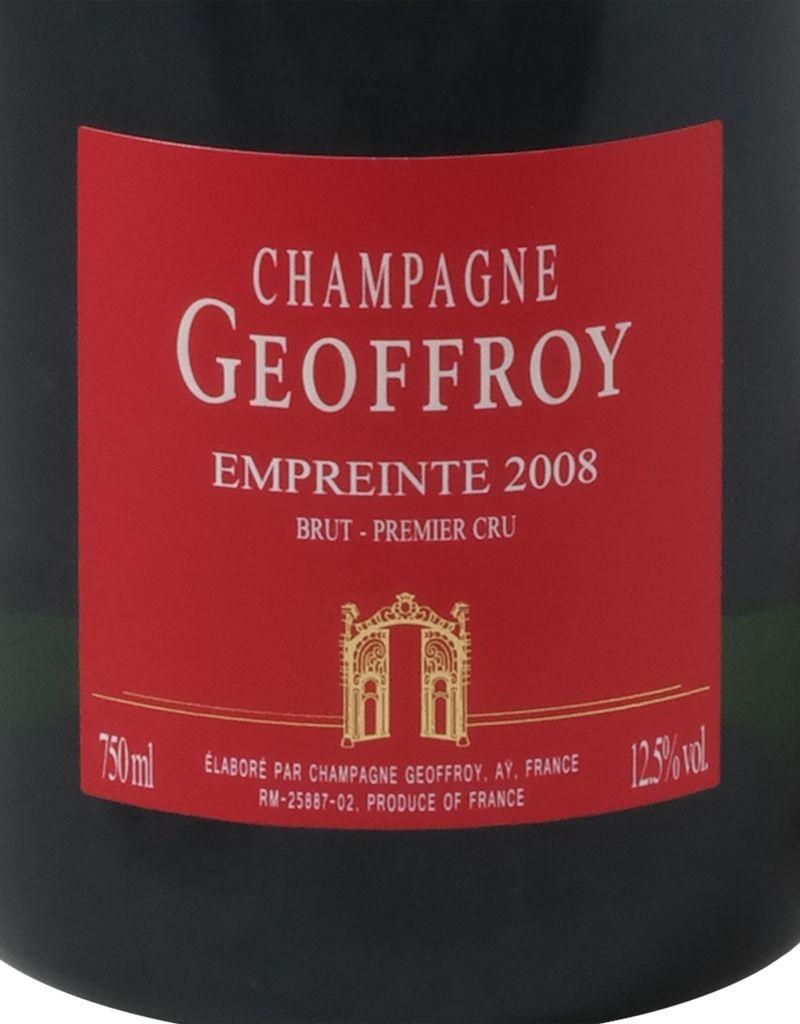 Champagne Geoffroy Rene Geoffroy 2008 Empreinte Premier Cru Brut, Champagne, 375mL