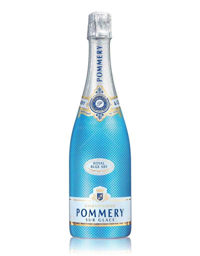 Pommery Champagne Pommery Royal Blue Sky Ice, France