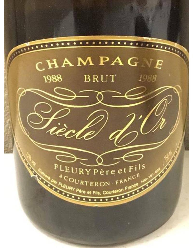 Champagne Fleury Père et Fils 1988 Siecle d'Or, Brut, France 1.5L