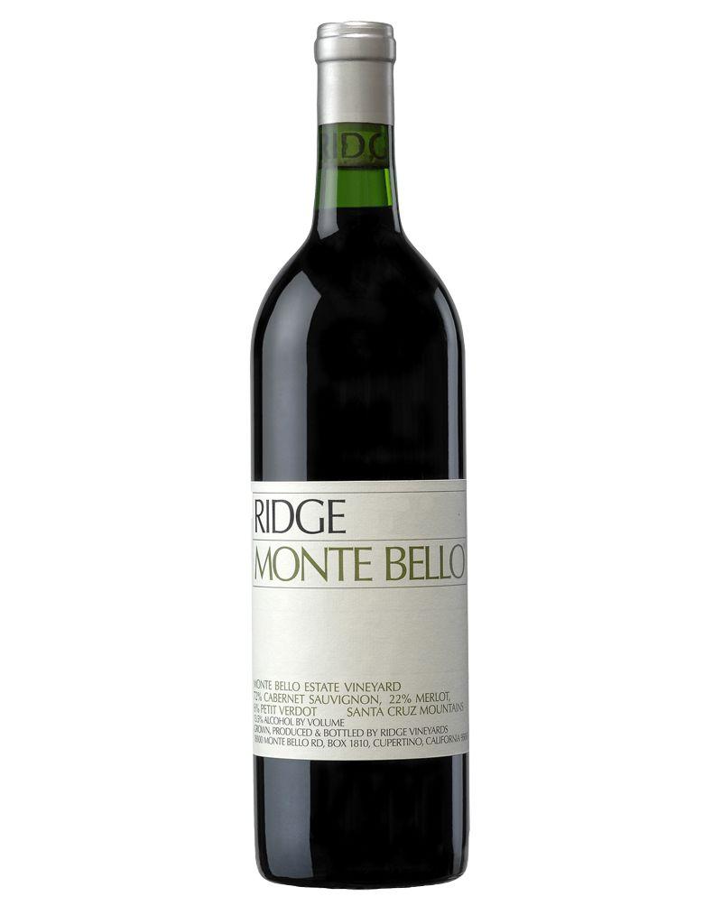 RIDGE Vineyards 2014 Monte Bello Cabernet Sauvignon, Santa Cruz Mountains, Sonoma, California