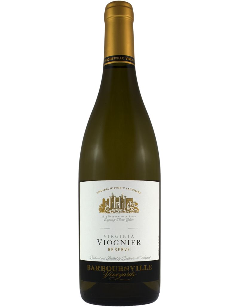 Barboursville Barboursville 2015 Viognier Reserve Estate, Virginia