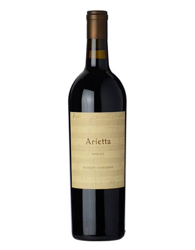 Arietta Arietta 2012 Hudson Vineyards Merlot, California