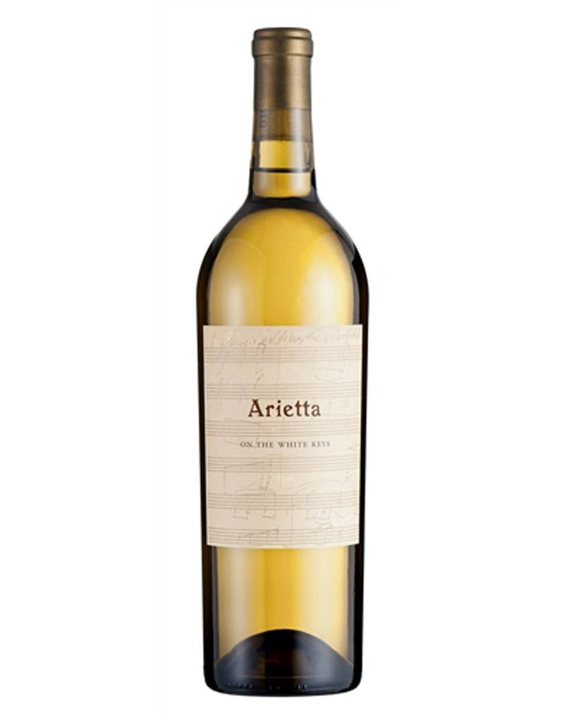 Arietta Arietta 2018 On The White Keys, White Blend, Carneros, California