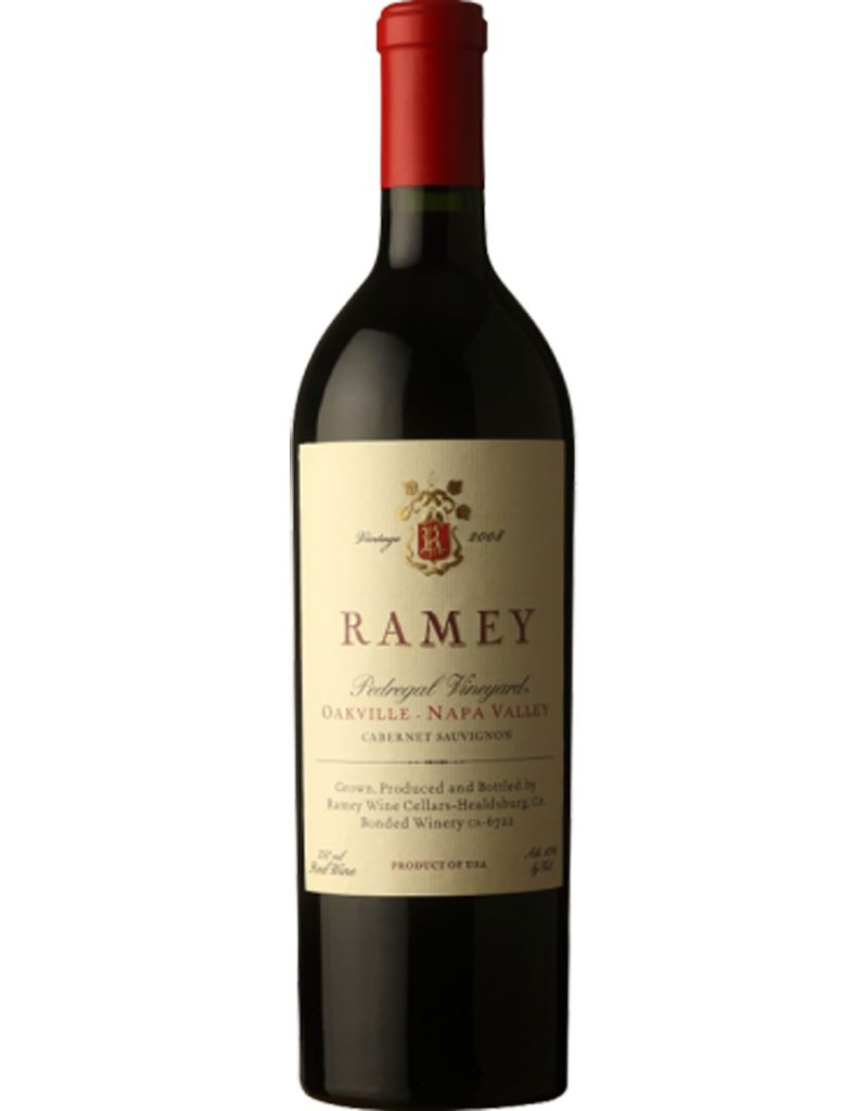 Ramey Vineyard Ramey Wine Cellars 2012 Pedregal Vineyard Cabernet Sauvignon, Oakville, California