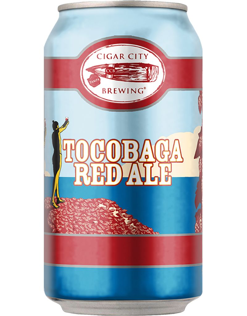 Cigar City Tocobaga Red Ale, 6pk Cans