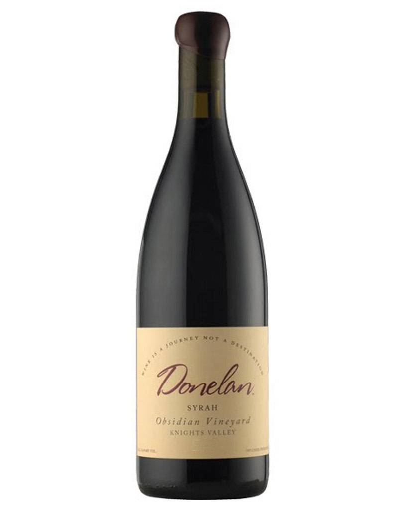 Donelan Donelan 2014 Obsidian Syrah, Knights Valley, Sonoma County