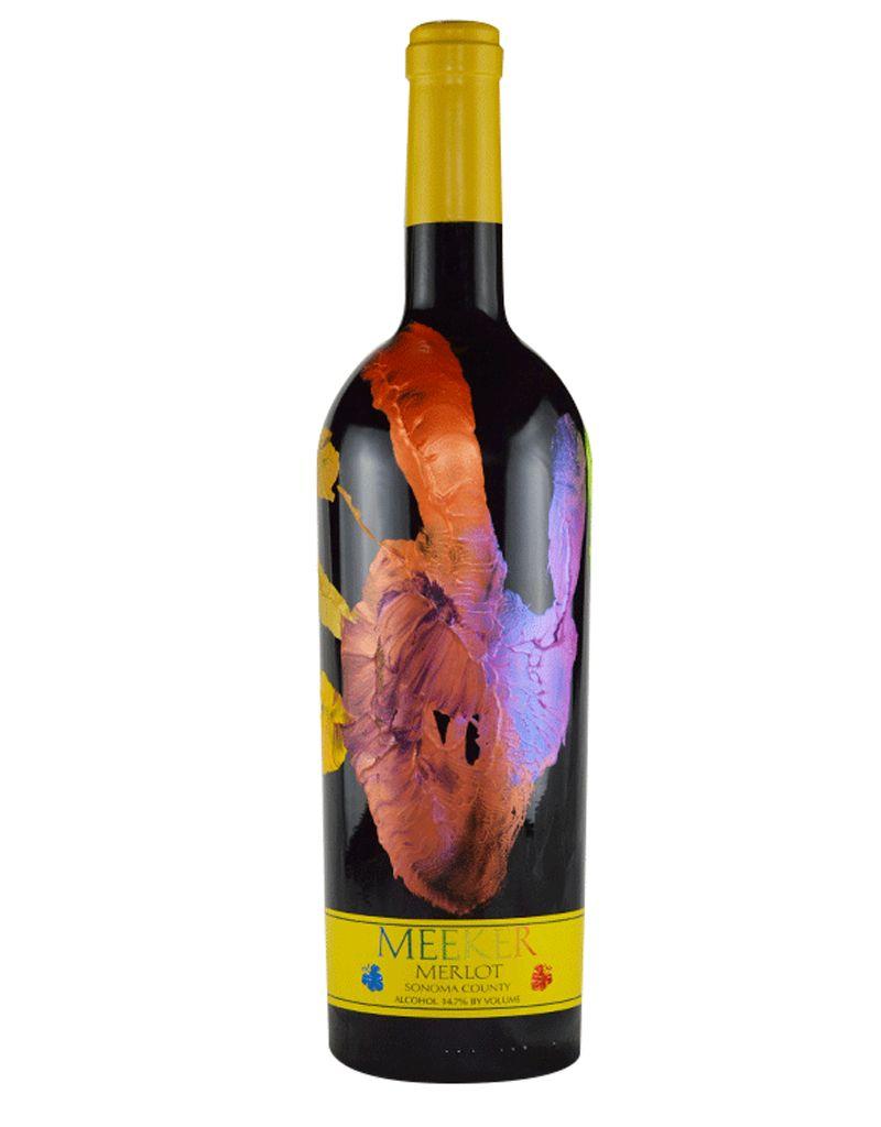 Meeker Wine 2014 'Handprint' Merlot 1.5L, Sonoma