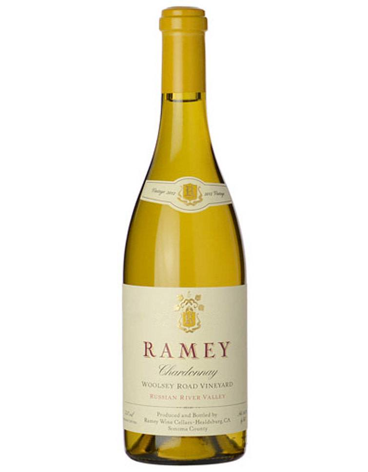Ramey Vineyards Ramey Wine Cellars 2013 Woolsey Road Vineyard Chardonnay, Russian River Valley, California