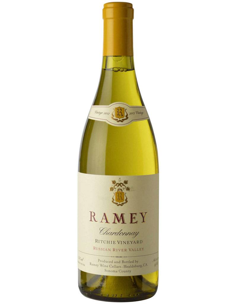 Ramey Ramey Wine Cellars 2016 Ritchie Vineyard Chardonnay, Russian River Valley, California