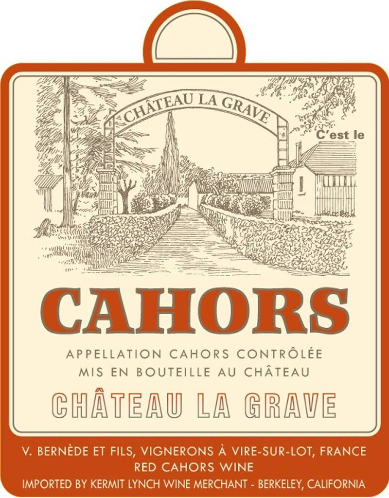 Chateau La Grave Château La Grave 2017 Cahors, France