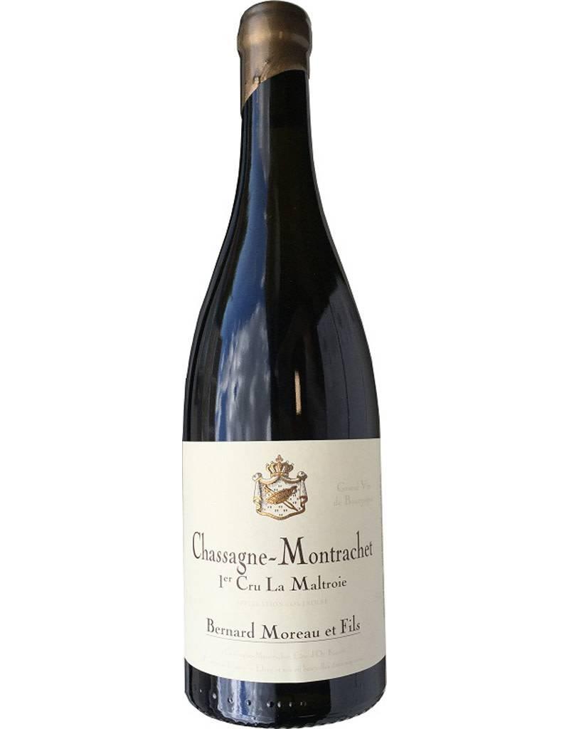 Domaine Bernard Moreau et Fils 2014 Chassagne-Montrachet Vieilles Vignes Rouge Burgundy, Burgundy, France