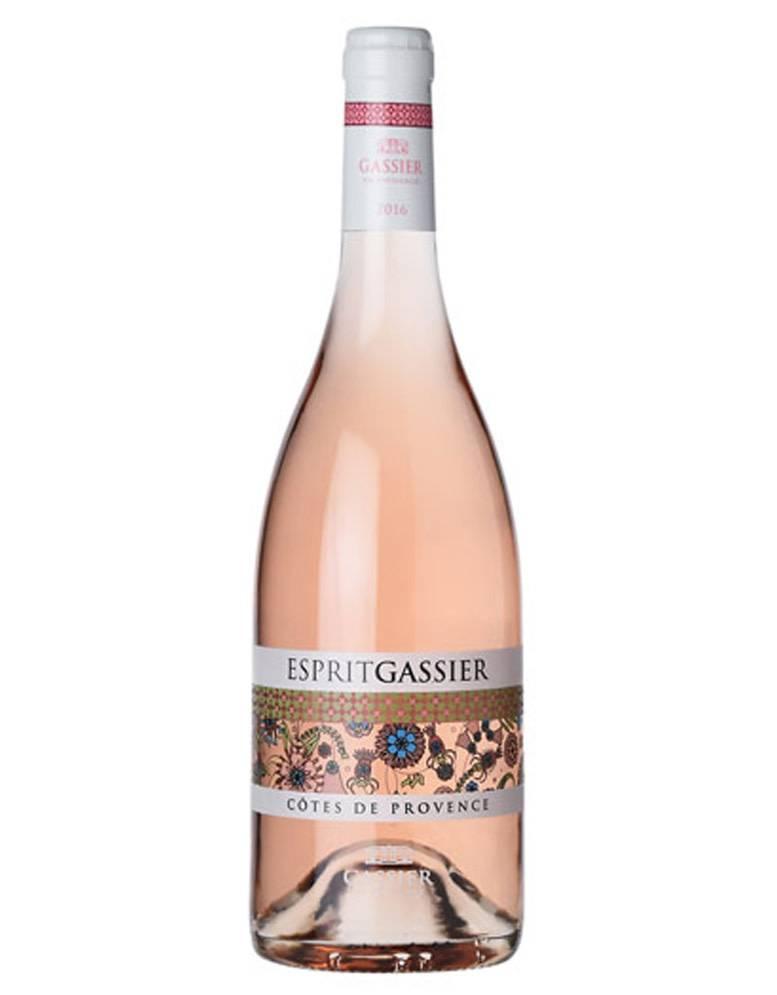 GASSIER Gassier Esprit 2019 Cotes de Provence Rosé, France
