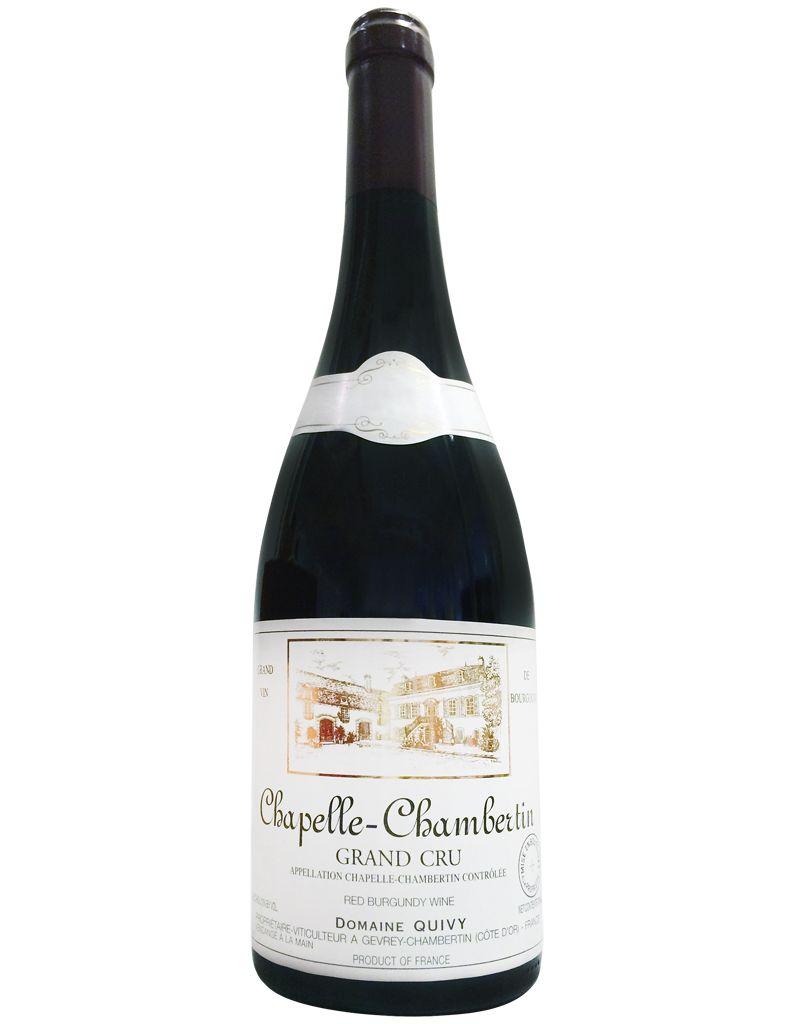 Domaine Quivy Domaine Quivy Chapelle-Chambertin 2009 Grand Cru Red Burgundy