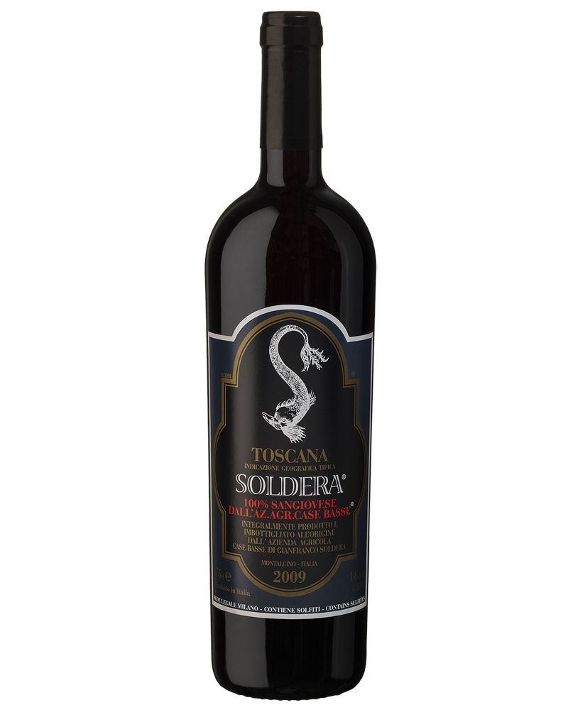 Soldera 2009 Case Basse 100% Sangiovese Toscana IGT, Italy