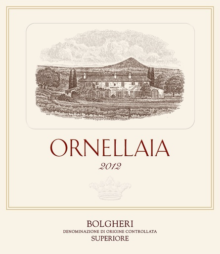 Ornellaia Ornellaia 2017 Bolgheri Superiore, Tuscany, Italy