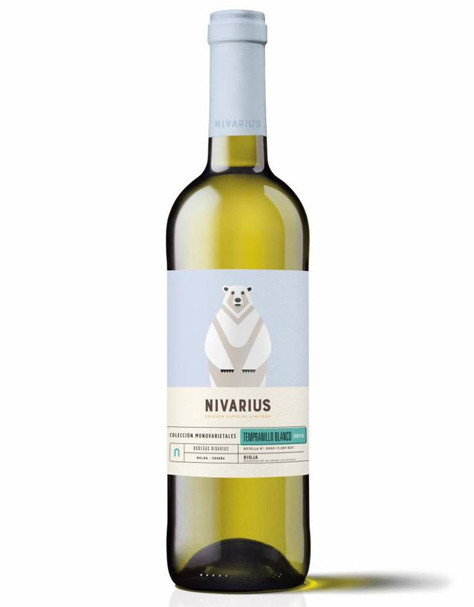 Nivarius 2014 Rioja Tempranillo Blanco, Spain
