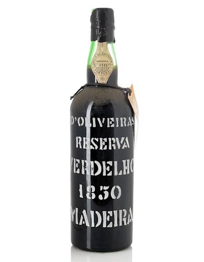 Pereira D'Oliveiras Pereira D'Oliveiras 1850 Verdelho Madeira [Bottled 1962], Portugal