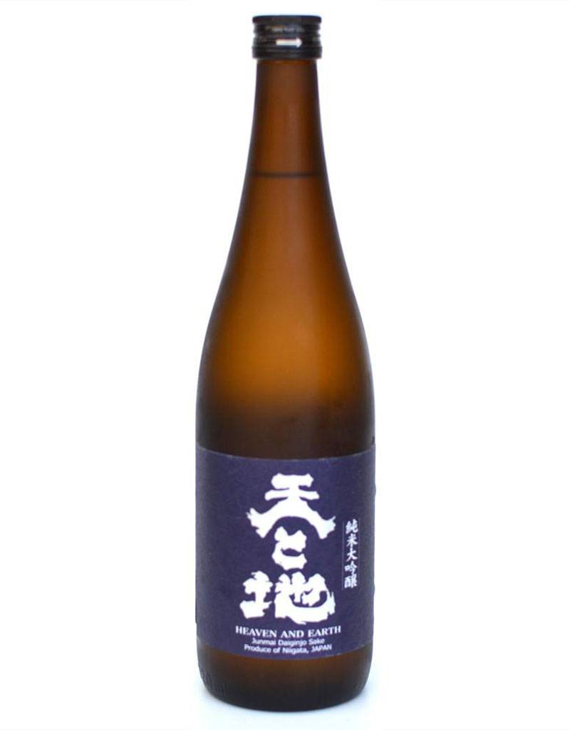 Musashino Shuzo 'Ten To Chi' Heaven & Earth Junmai Daiginjo Sake, Niigata, Japan 720mL