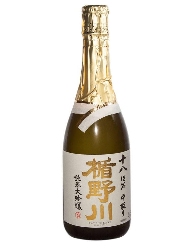 Tatenokawa 18 Junmai Daiginjo Sake