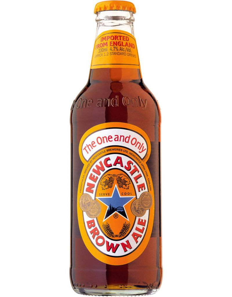 Newcastle Brown Ale Beer, 6pk Bottles