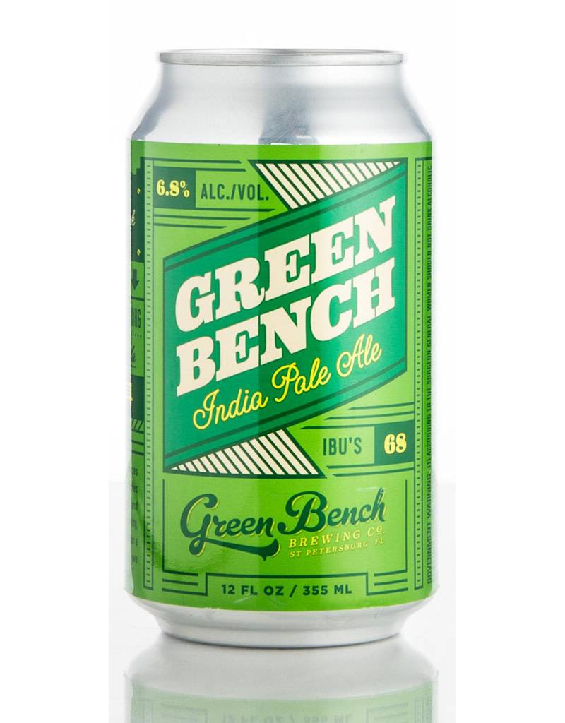 Green Bench Brewing Co. Green Bench Brewing Co. IPA, 6pk Cans