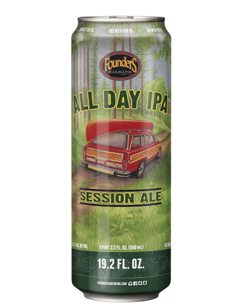 Founders Brewing Co. All Day IPA, 19.2oz Can