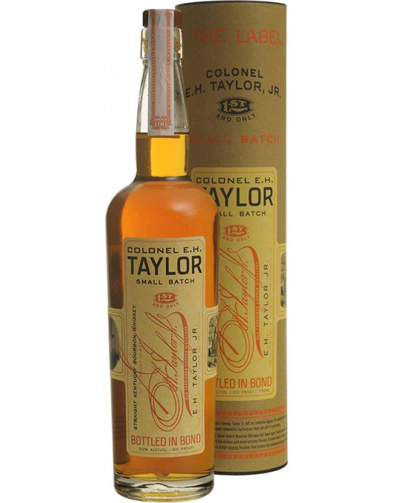 Buffalo Trace Distillery Colonel E.H. Taylor Small Batch Bourbon, Frankfort, Kentucky