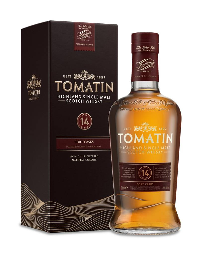 Tomatin 14 Year Highland Single Malt Scotch