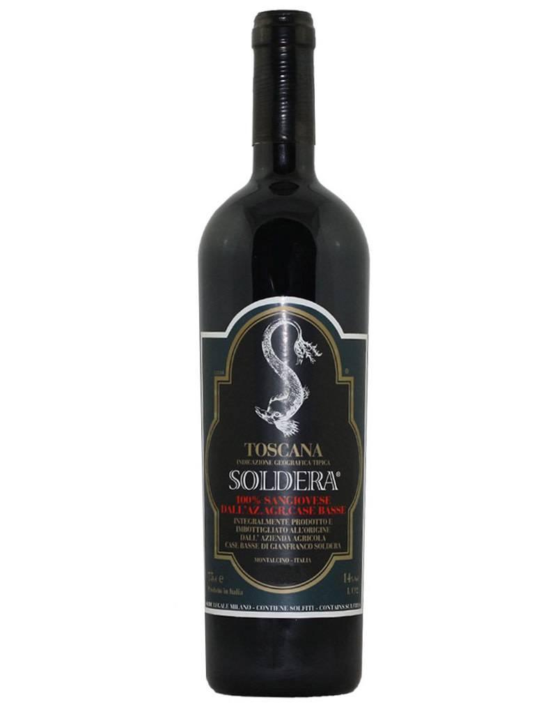 Soldera 2012 Case Basse 100% Sangiovese Toscana IGT, Italy