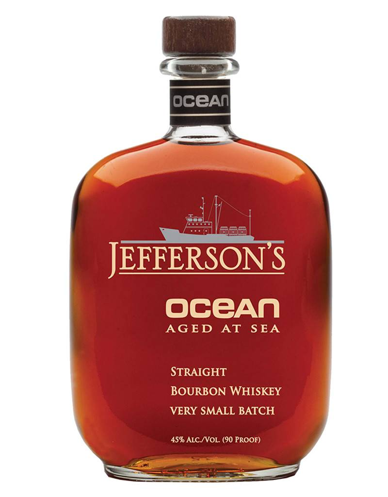 Jefferson's Ocean Straight Bourbon Aged At Sea, Whiskey, Kentucky