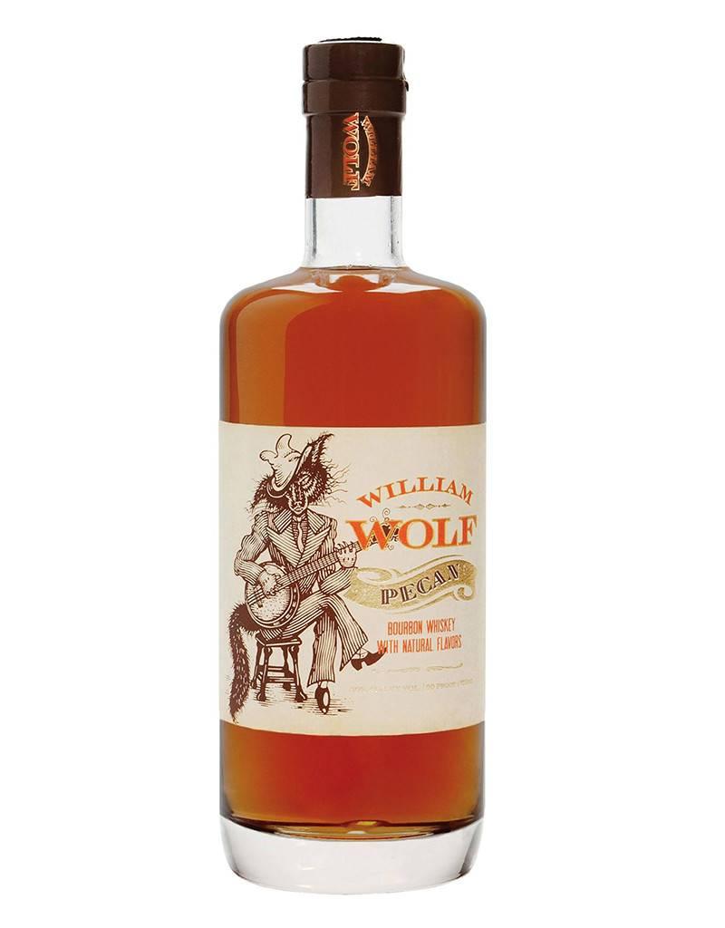 Wolf Distilleries William Wolf Pecan Bourbon Whiskey