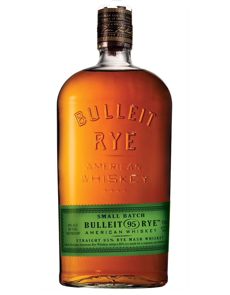 Bulleit Frontier Straight Rye Small Batch Whiskey