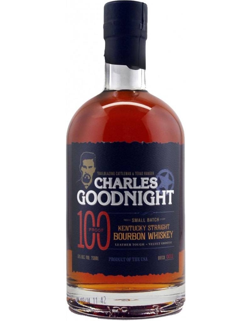 Goodnight Distillery Charles Goodnight Small Batch Bourbon Whiskey, Kentucky