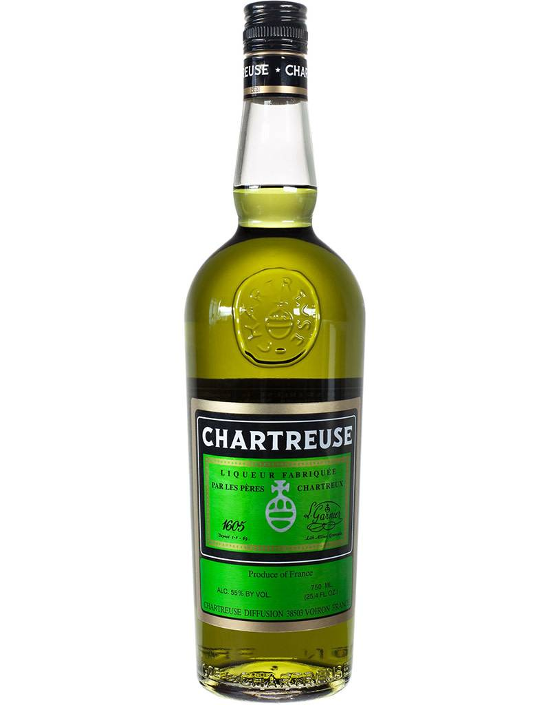 Chartreuse Chartreuse Green 110 Liquer, France