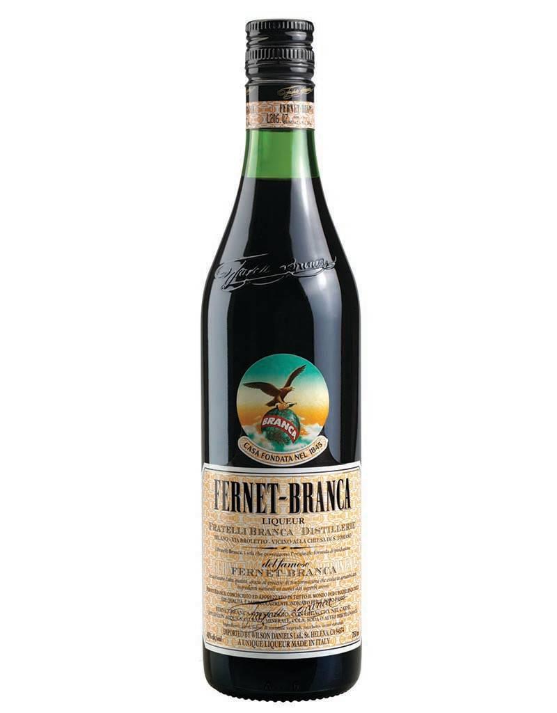 Fernet Branca Fernet Branca Amaro Liqueur, Italy