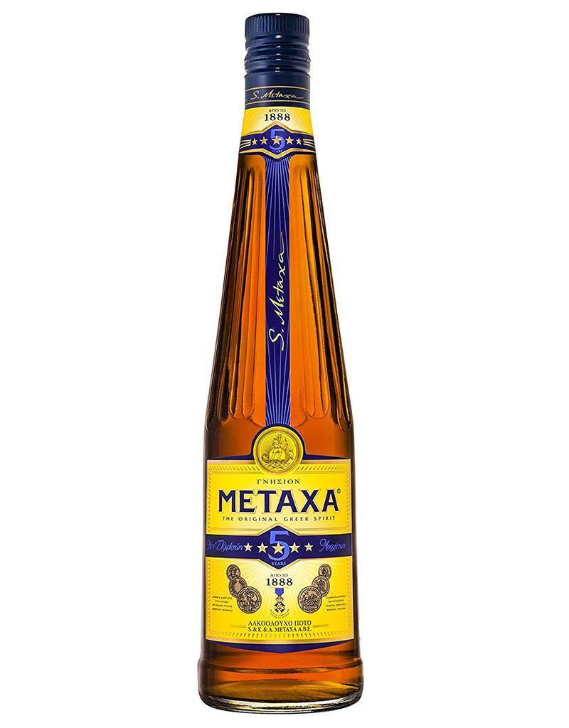 Metaxa Metaxa 5 Stars Greek Ouzo, Grape Brandy