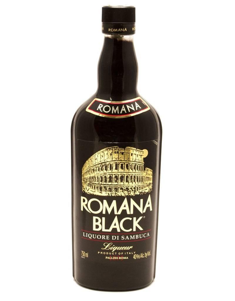 Romana Black Romana Black Sambuca Liqueur, Italy