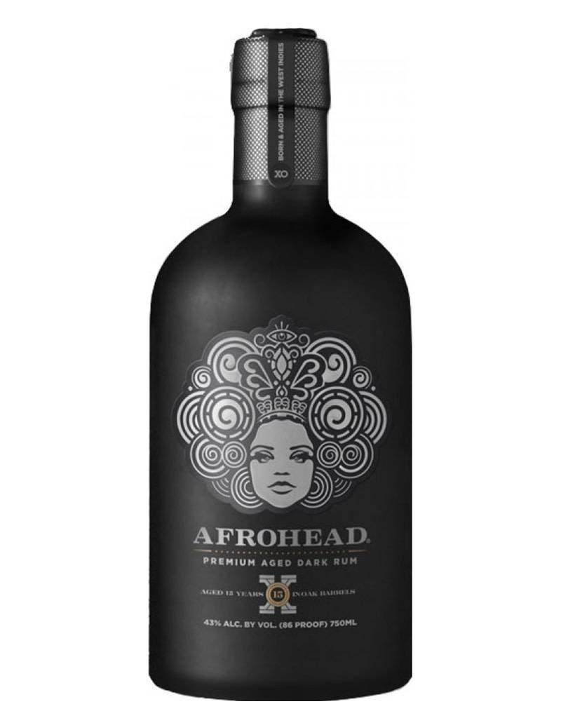 Afrohead Afro Head Premium 15 Year XO Aged Dark Rum