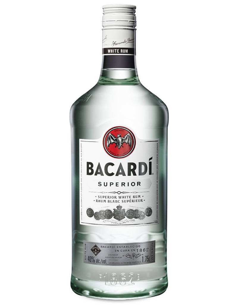 Bacardi Co. Bacardi Superior White Rum, 1.75L
