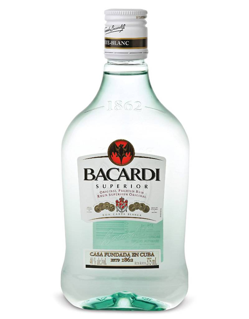 Bacardi Co. Bacardi Superior White Rum, 375mL