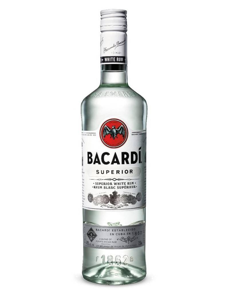 Bacardi Co. Bacardi Superior White Rum, Puerto Rico