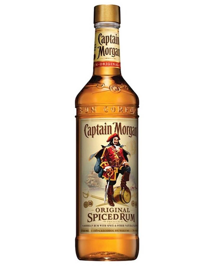 Captain Morgan Rum Co. Captain Morgan Spiced Rum, Plastic