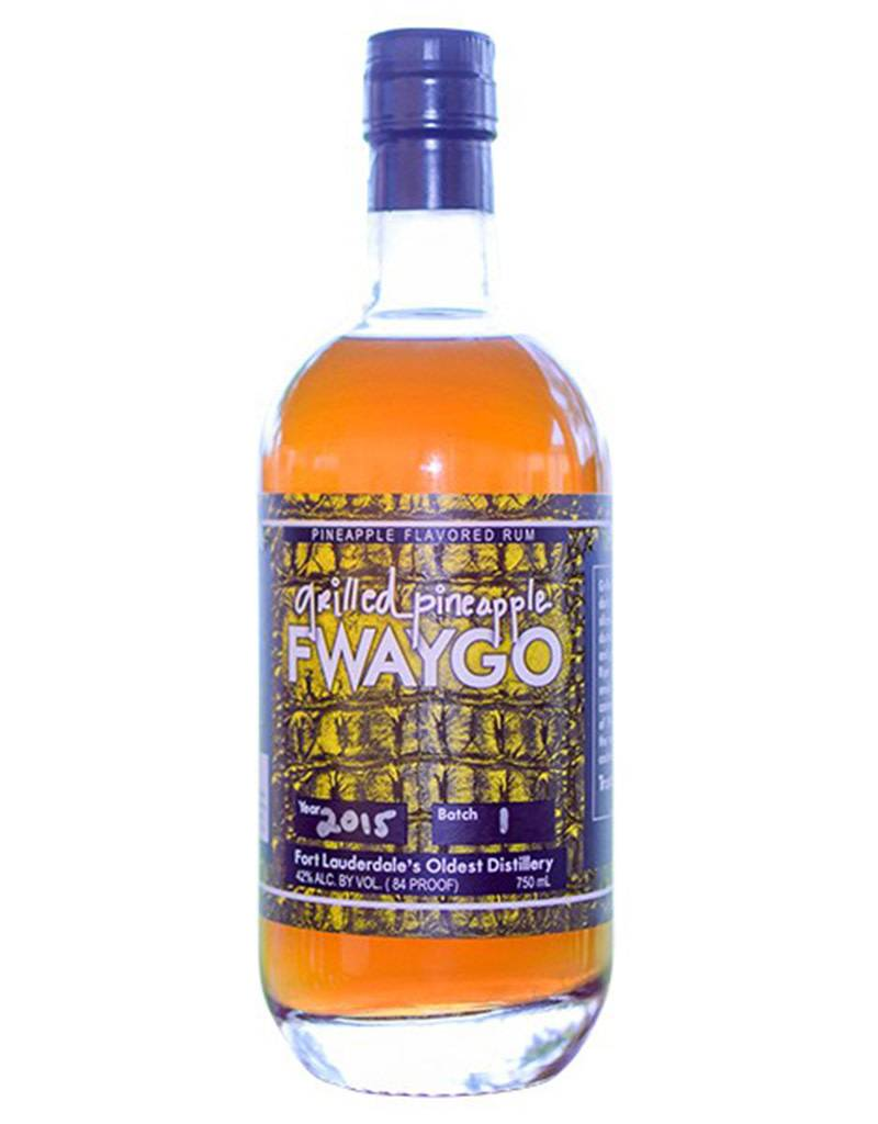 South Florida Distillers Inc. Fwaygo Grilled Pineapple Rum